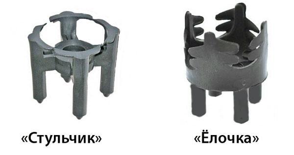 Фиксатор арматуры стульчик и ёлочка