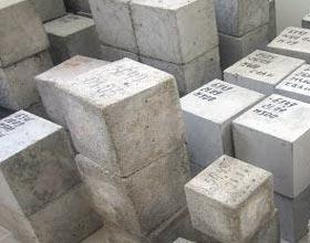 Образцы бетона