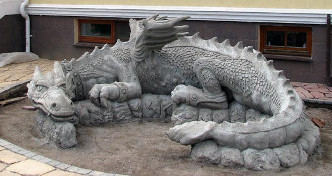 Бетонная скульптура