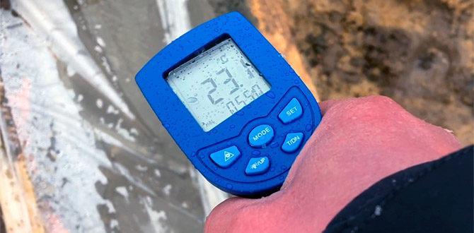 Измерение температуры бетона