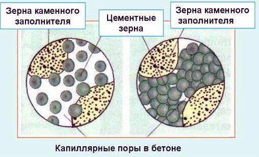 Капиляры в бетоне