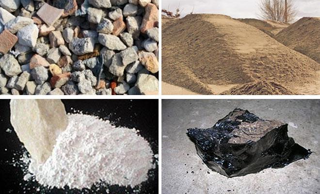 Материалы для изготовления асфальтобетона