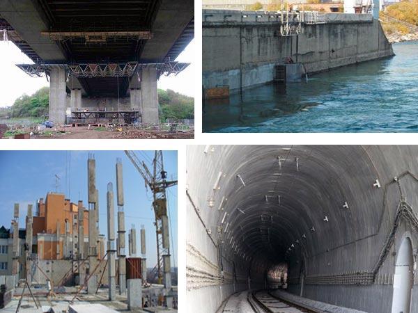 Применение бетона М450