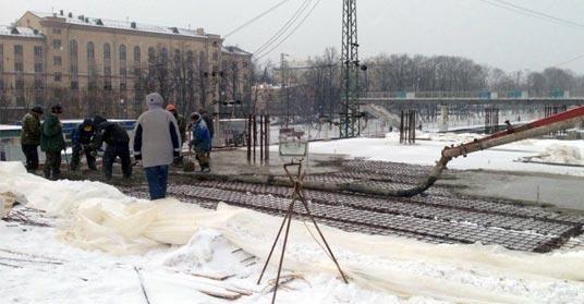 Применение морозостойкого бетона