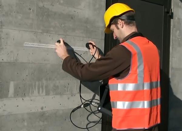 Проверка бетона ультразвуком
