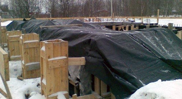 Утепление бетона