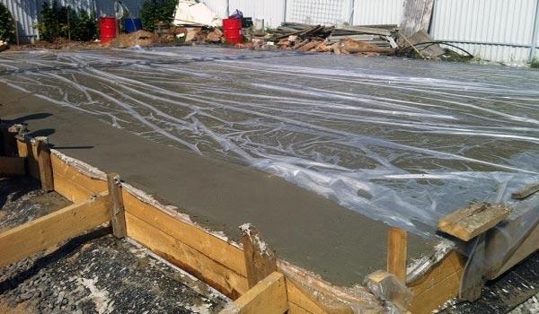 Выдерживание бетона